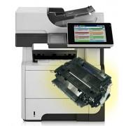HP LaserJet Enterprise flow MFP M525f (CF117A) Stampante Multifunzione monocromatica ricondizionata + 1 toner CE255X PROMO
